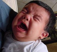 llanto del bebe