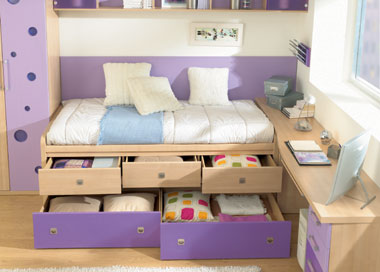 C mo decorar cuartos infantiles peque os web del beb for Dormitorios pequenos para adultos