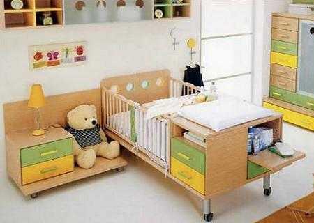Seguridad en la decoraci n de la habitaci n de los beb s - Muebles para habitacion de bebe ...