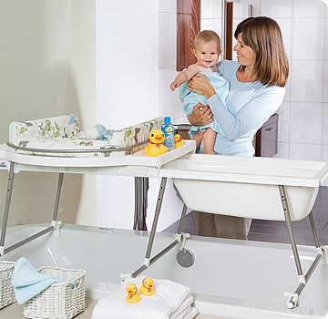 Ba eras para beb s c mo elegir la adecuada web del beb - Baneras con cambiador para bebes ...