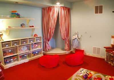 Decoración para el cuarto de juegos del bebé   Web Del Bebé