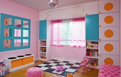 Decoraci n para el cuarto de juegos del beb web del beb - Colores para pintar la habitacion ...