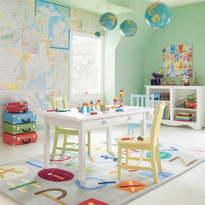 Decoración para el cuarto de juegos del bebé | Web Del Bebé