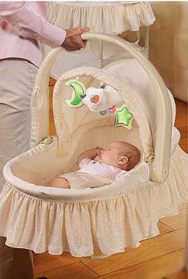 Vestir un moises para bebe