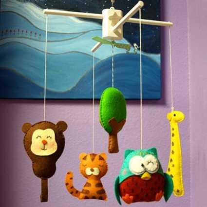 Móviles para cunas: indispensables para tus pequeños! | Web Del Bebé