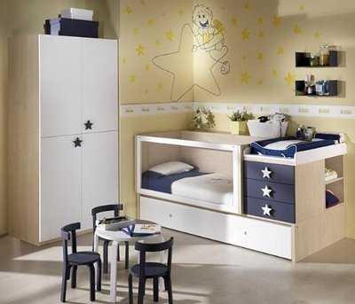 Cunas convertibles para tu beb todo en uno web del beb - Habitaciones de bebes modernas ...