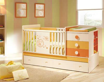 Encantador Muebles Hermosas Cunas Bandera - Muebles Para Ideas de ...