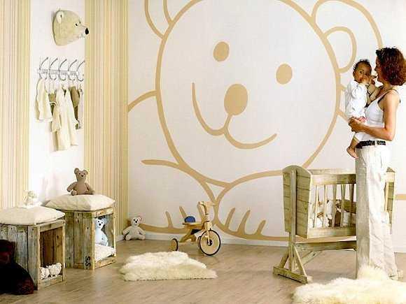 Decoración de cuartos de bebes con vinilos, ¡perfecta! | Web Del Bebé