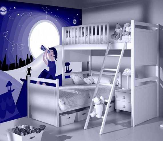 Decoraci n de cuartos de bebes con vinilos perfecta for Vinilo para habitacion de nina