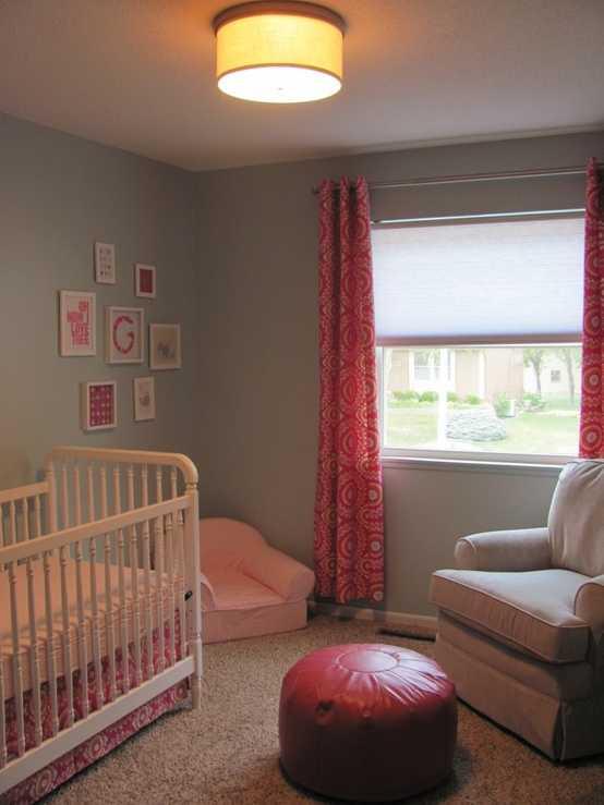 explosin de color en el cuarto del beb