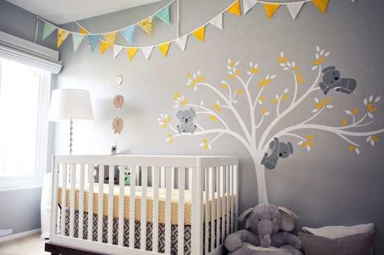 Decoración del cuarto de tu bebé con las mejores tendencias del ...