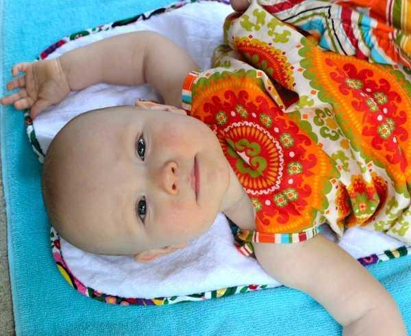 Permite que tu bebé esté fresca