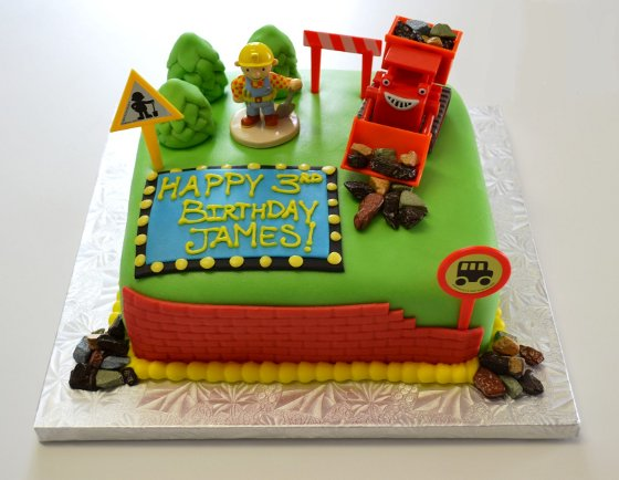 Bob The Builder Cake Decorations