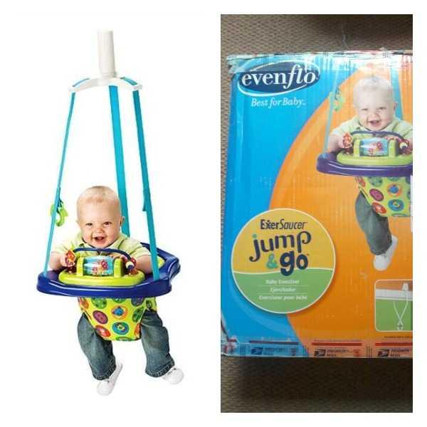 Silla saltarín ¡A tu bebé le encantará!